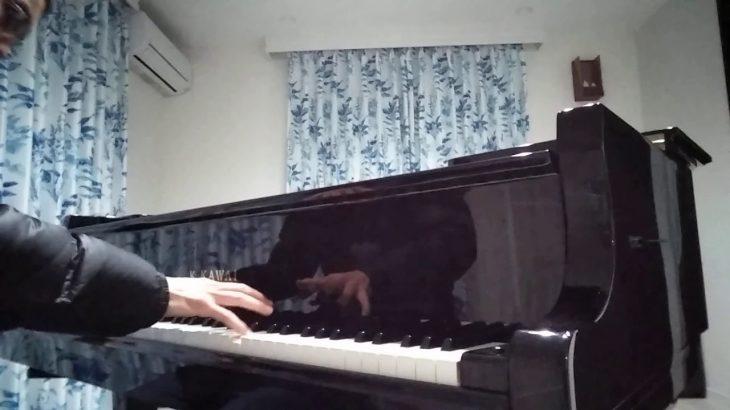 アニメ㉒ ドラゴンボール「孫悟空の逆襲(ピッコロのBGM)」 耳コピピアノ