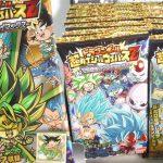 第18弾 ドラゴンボール超戦士シールウエハースZ 空前絶後のクライマックス『1BOX 開封』Dragonball Sticker シール 食玩 Japanese candy toys