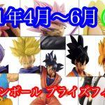 ドラゴンボール  4月〜6月プライズ品  Dragon ball April-June prize