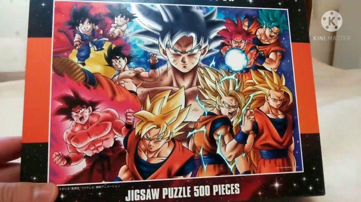 ドラゴンボール超のパズル(500ピース)ができました!