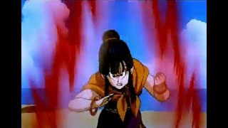 Chi Chi gets mad and goes kaio ken