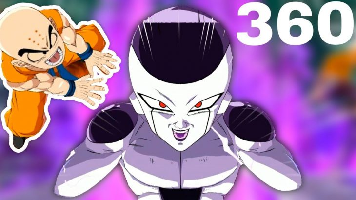 🔴 Dragon Ball Z FighterZ VR 360 Animationドラゴンボール virtual reality anime 4K competition