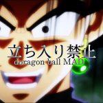 ドラゴンボール【 MAD】立ち入り禁止【あらき×まふまふ】#絶剣YouTube進出記念