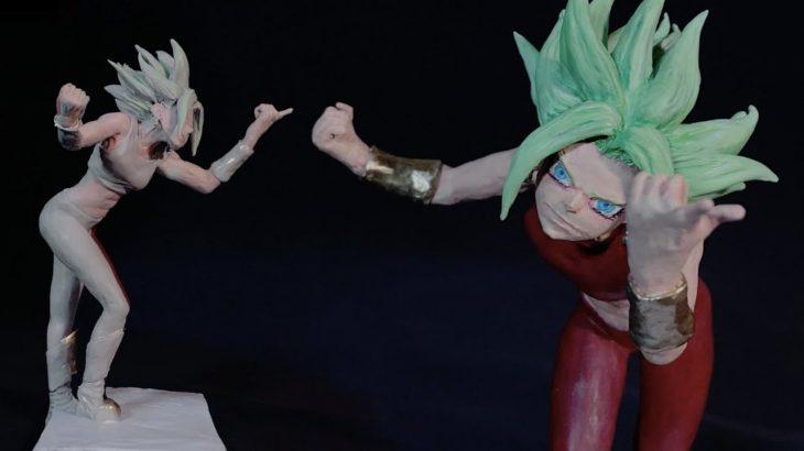 【フィギュア制作】粘土で作る。ケフラ(ドラゴンボール超)Sculpting Kefla『Dragon Ball Super』