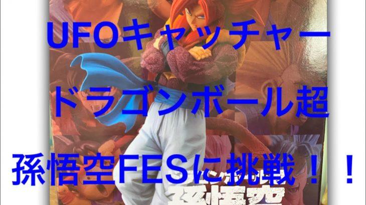 『UFOキャッチャー』 ドラゴンボール超 孫悟空FES!!に挑戦!