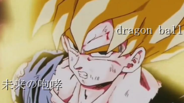 ドラゴンボールz,gt.super(超)MAD/未来への咆哮