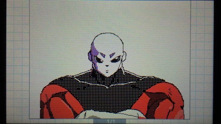 うごメモ 3D ドラゴンボール超のジレン描いてみた【うごくメモ帳 3D】