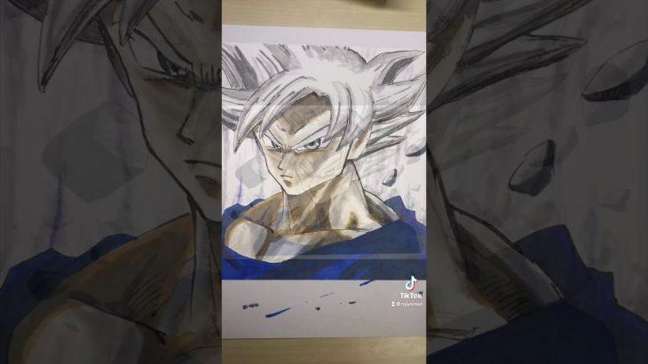 【ドラゴンボール】必殺!身勝手の極意!!/Drawing Goku Son【DRAGON BALL】