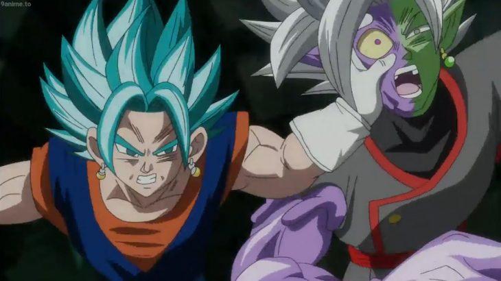 Gokuu, Vegeta, Trunks vs Zamasu, Gokuu Black -ドラゴンボール超(スーパー )