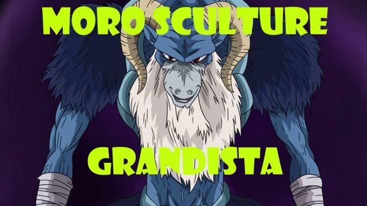 Moro Dragon Ball Super Figura / Escultura Grandista -ドラゴンボール超の悪役モロの姿