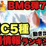 【SDBH】スーパードラゴンボールヒーローズ!BM6弾稼働7週経過のシークレットカード相場ランキング!