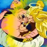 ドラゴンボールZ – 激突悟空がスーパーサイヤ人3に変身し、魔人ブウと戦う | Goku transforms into Super Sire 3 and fights with Boo