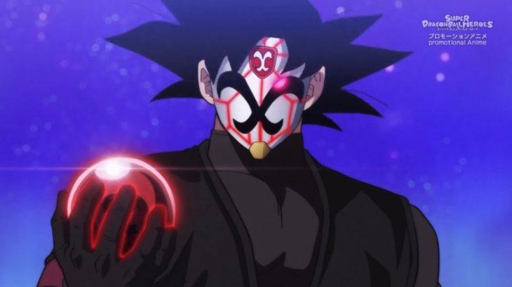 ゴクウブラック復活!?紅き仮面のサイヤ人登場!! ドラゴンボールヒーローズ super dragon ball herose BM episode 12 goku black