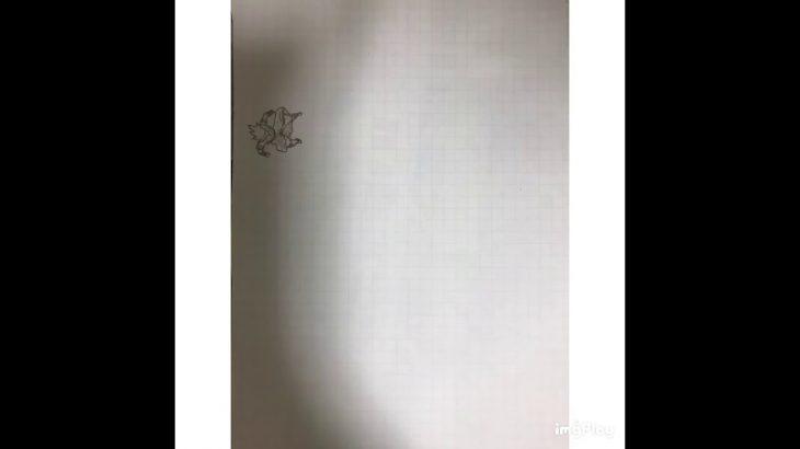 [パラパラ漫画]ゴジータvsブロリー(ドラゴンボールブロリー)