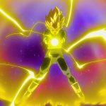 ドラゴンボール超 – ベジータはトールの力を借りています、100万本の稲妻を解き放ちアイアンマンを黒く燃やす
