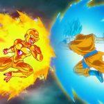 ドラゴンボール超 – フリーザはレベル1000に進化しました、 悟空SSJブルーはゴールデンフリーザによって彼の臓器で殴打されました