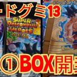 スーパードラゴンボールヒーローズカードグミ13 ①BOX開封しました!!!