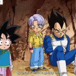 ドラゴンボール超 – ゴテンクスは重複ベジータに簡単に倒されま. Goku appears to be rescuing Vegeta in front of the purple clone