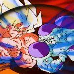 ドラゴンボール改    惑星ナメックが破壊される、悟空は1回のヒットでフリーザの体を破壊します, Goku destroys Frieza's body with a single hit
