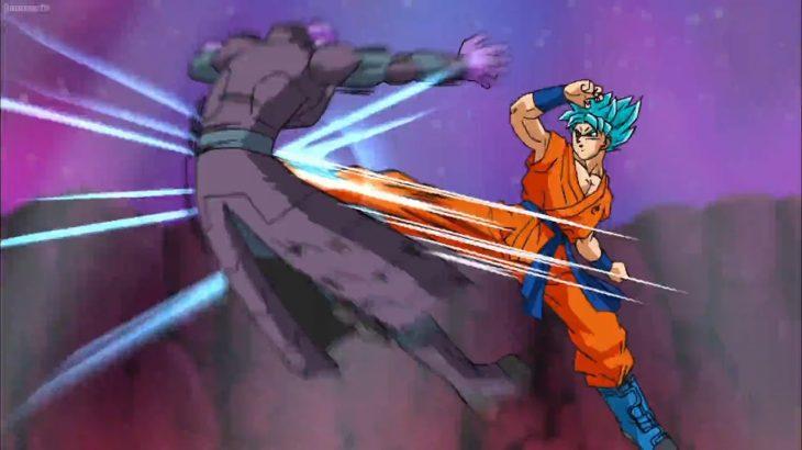 ドラゴンボール超  –  悟空の新しいテクニックが帰ってきた!      Goku's new technique is back !