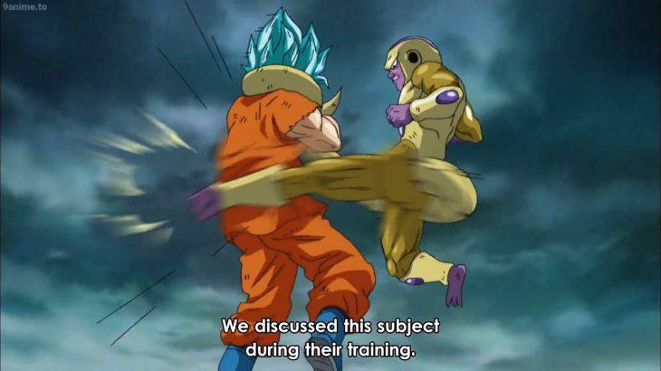 ドラゴンボール超  – 孫悟空と戦う時が来ました     It's time to fight Son Goku