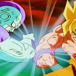 ドラゴンボール改 || 孫 悟空はSSJモードをオンにして生死の戦いでフリーザと戦う、ドラゴン神の願いでベジータが復活, Gokuu turns on SSJ mode to fight Frieza