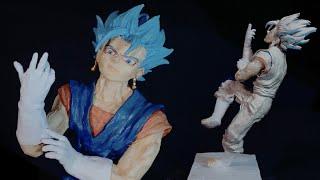 【フィギュア制作】粘土で作る。ベジット/ポタラの超戦士(ドラゴンボール超)Sculpting Vegetto blue『Dragon Ball Super』