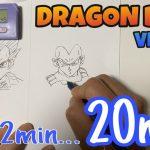 【ドラゴンボール超(スーパー)】ベジータのイラストの描き方!ベジータVS…漫画(DRAGON BALL drawing VEGETA)