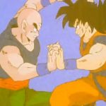 ドラゴンボールZ – King Kai agrees to train Goku.   | 北の界王は悟空を訓練することに同意します。
