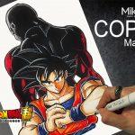 【DRAGON BALL】Son Goku ドラゴンボール  孫悟空 七龍珠 描いてみた | Drawing COPIC Markers Anime | Mike PEN SKETCH