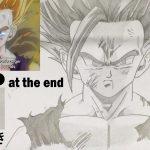 Drawing Gohan Super Saiyan 2 (Dragon Ball Z) ドラゴンボールZ 悟飯 描いてみた