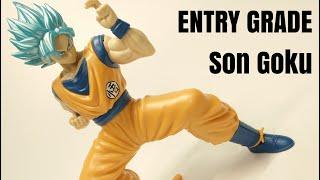 ENTRY GRADE  孫悟空  超サイヤ人ブルー「ドラゴンボール超」 / EG Son Goku Super Saiyan Blue – Dragon Ball Super / バンダイ
