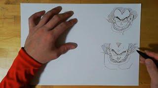 いつのベジータが好きですか???Drawing vegeta 【ドラゴンボール/Dragon Ball】