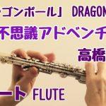 【ドラゴンボールOP】魔訶不思議アドベンチャー! /高橋洋樹【フルートで演奏してみた】DRAGON BALL
