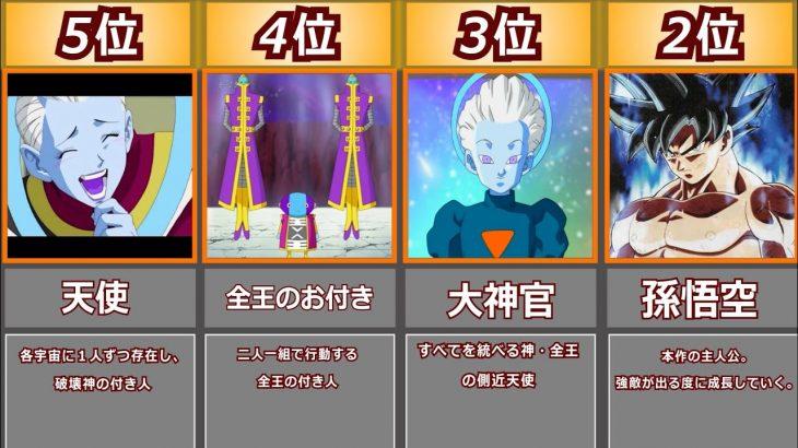 【ドラゴンボール】最強キャラクターランキング