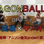 【演奏してみた】限界突破×サバイバー【ドラゴンボール超】