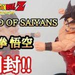 【開封】ドラゴンボールZ BLOOD OF SAIYANS-SPECIALⅩ-界王拳 孫悟空 開封レビュー!とおちゃんチャンネル