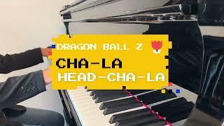ドラゴンボールZ CHA RA HEAD CHA RAをピアノで弾いてみた
