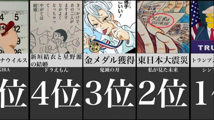 衝撃的な日本の未来を予言した漫画のワンシーン