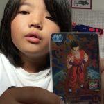 ドラゴンボールカード 初心者向けのカードを見せてみた