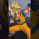 ドラゴンボール超 超ゼンカイソリッドvol.1 超サイヤ人孫悟空フィギュア #shorts DRAGON BALL Super Saiyan Son Goku Figure