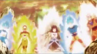 【ドラゴンボール】悟空 ベジータ フリーザ 17号 悟飯vsアニラーザ 【アニメ】