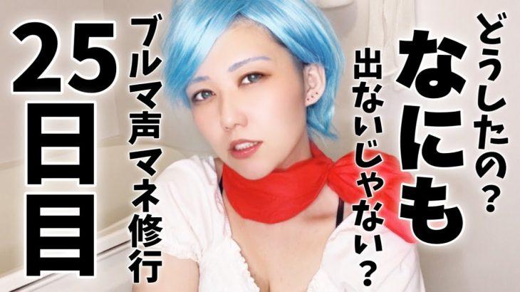 【ドラゴンボール】ブルマ声マネ修行25日目