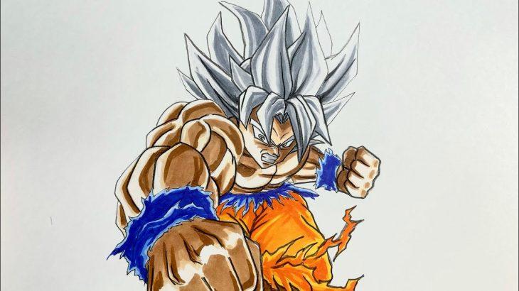 ドラゴンボール 身勝手の極意 悟空 描いてみた DRAGON BALL Son Goku drawing