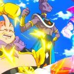 悟空は超サイヤ人の神の力を示し||Goku demonstrates the power of Super Saiyan God