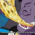 ドラゴンボール 超 ビルスがピザを食べるシーン🍕