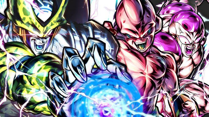 【超かっこいい】LFフリーザ&LFパーフェクトセル&LFブウのラスボス強大な敵パーティー!【ドラゴンボールレジェンズ】【DRAGONBALL LEGENDS】