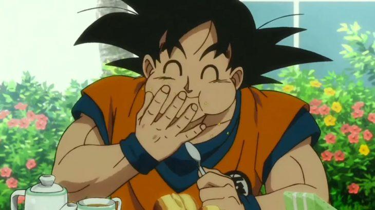 映画 ドラゴンボール 超 ブロリー 食事シーン (ブルマのサイダー ウィスのシュークリーム 悟空のデザート) Movie Dragon Ball Super Blory Eating Moment